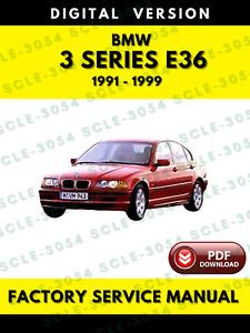 BMW 3 Series E36 1991-1999 Service Repair Workshop Manual