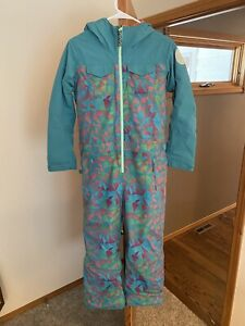 Burton One Piece Girls DryRide Snowsuit size 10-12 - used once