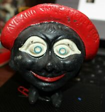 Cast Iron Still Save and Smile Money Box Bank Original Paint Antique