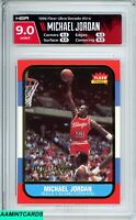 1996 FLEER ULTRA DECADE Michael Jordan #U4 CHICAGO BULLS HOF GOAT HGA 9 MINT