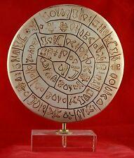 "Phaistos Disk Phaestos ""1700B.C. the first movable type"""