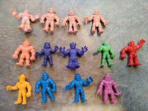 Lot of 13 Vintage Mattel M.U.S.C.L.E. Muscle Men Figures Kinnikuman