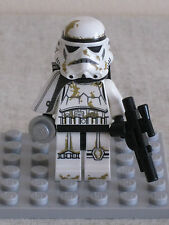 Lego 9490 Star Wars Stormtrooper Tatooine Minifigure With White Pauldron