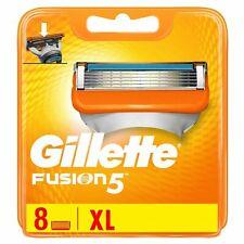 GIllette Fusion 5 XL 8 Lame di Ricambio Originali