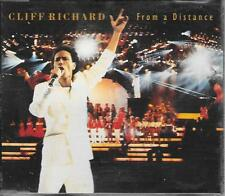 CLIFF RICHARD - From a distance CD SINGLE 3TR UK (EMI) 1989 (Wired for sound)