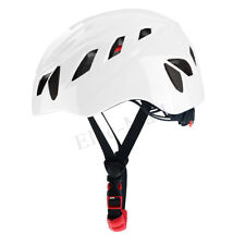 Rescue Helmet Rock Hat Cap Climbing Downhill Caving Rappelling Protector White