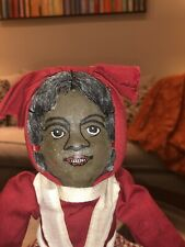 """Bruckner Babyland """"Topsy-Turvy Doll�1901 """"Hand Painted Face�Pre Lithograph Faces"""