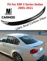Carbon Fiber Lip Spoiler FIT FOR BMW E90 323i 325i 335i 328i or M3 4-DOOR Sedan