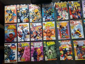 mixed lot of Marvel comic books comics morbius cable cage ghost rider nova