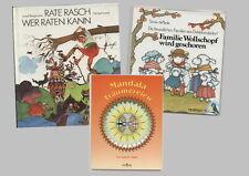3 Bücher: Mandala Träumereien/ Tomie de Paola- Familie Wollschopf wird geschoren