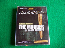 The Murder of Roger Ackroyd: Agatha Christie : NEW AudioBook Cassettes