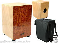 CAJON WOODEN RHYTHM BOX *With Internal Snare Wires* NEW!