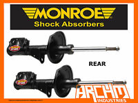 REAR MONROE GT GAS SHOCK ABSORBERS FOR TOYOTA AURION GSV40R V6 SEDAN 7/06-12/11