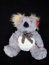 Cute Gift Fluffy Koala Australian Souvenir Kids Soft Toy Size 33cm Brand New