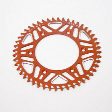 COURONNE ANODISÉE KTM ORANGE 50 Dents SX EXC SXF EXCF 125 250 350 400 450 500