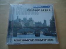 CD CHANSONS FRANCAISES - VOL.1 - Chansons passion - 20 titres
