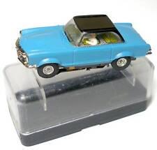 1960s Faller MERCEDES 230 Slot Car BL/BK UNRUN HO BOXED