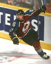 MILAN HEJDUK 8x10 ACTION PHOTO Awesome NHL Hockey COLORADO AVALANCHE #23 [Czech]