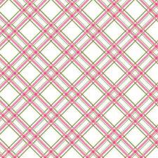 Maywood Studio Diagonal Plaid Pink BTY MAS8244-PG fabric