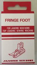Janome Fringe Foot (Tailor Tacking Foot) (Category B and C)