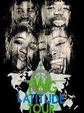 TWG LATITUDE TOUR Kierra Sheard, Geoffrey Golden, Brian Wilson Adult T-Shirt L