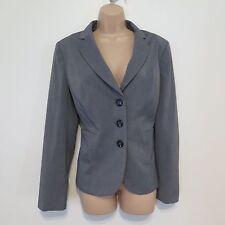 Debenhams grey work official formal blazer job jacket Size 16