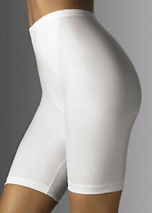 Bali Sleek Firm Control Thigh Slimming Long Leg Panty Girdle with garters Iv Lg