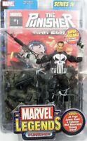 Marvel Legends PUNISHER Action Figure Toy Biz Series IV- 2003