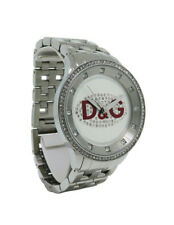 Dolce & Gabbana Time DW0144 Women's Clear Stones Stainless Steel Analog Watch