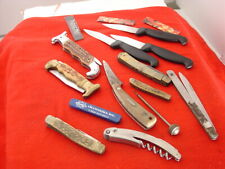 Vintage Misc Junk Drawer Knife Knives Collection Etc