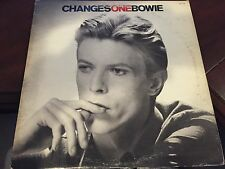 "DAVID BOWIE CHANGES ONE 12"" LP 1976 RCA AQL1-1732 BLACK LABEL"