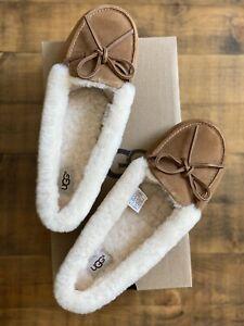 UGG Women's SOLANA LOAFER Slippers Chestnut Size US 8