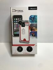 New Optrix by Body Glove CRC94767 2 Lens Action Camera Kit for iPhone 6/6s