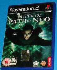 Matrix - Path of Neo - Sony Playstation 2 PS2 - PAL
