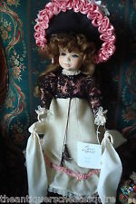 """Jerri McCloud all ceramic doll """"Mademoiselle Sylvie"""", only 300 made, 17"""" tall[a*"""