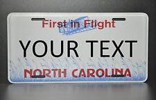 US AUTO USA CAR NORTH CAROLINA STATE LICENSE PLATE Kennzeichen Nummernschild