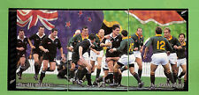 1995 NEW ZEALAND   RUGBY UNION CARDS  #49, 50 & 51, SPRINGBOKS  V ALL BLACKS