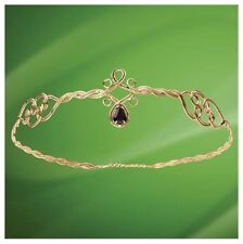 The Medieval Brass Wire Circlet Crown. Perfect for Stage and Costume or LARP