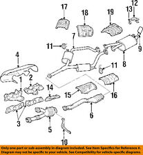 TOYOTA OEM-Exhaust System-Catalytic Converter & Pipe 1745046160