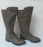 NEW Girl/'s Toddler/'s Carters Evelyn Riding Boots Side Zipper Brown 63A