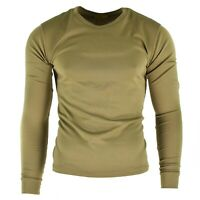 Original British army tricot shirt Undershirt sweater thermal Olive OD NEW