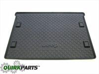 2008-2012 Jeep Liberty Rear Trunk Molded Cargo Tray Liner Black W/ Logo MOPAR