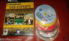 L'INTEGRALE LES EXPERTS: MIAMI LAS VEGAS UBISOFT PC DVD-ROM PAL