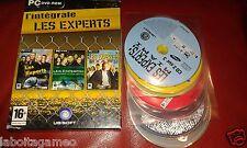 L'INTEGRALE LES EXPERTS: MIAMI LAS VEGAS UBISOFT PC DVD-ROM PAL