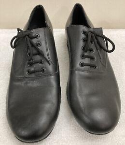 Men's VeryFine Sz 11 Latin Salsa Ballroom Competitive Dance Shoes C2503 Black