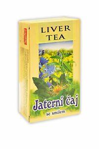 Apotheke Herbal Liver Detox Tea. 20 Tea Bags x 1.5g. Pack of 2.