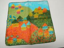 "VTG UNIQUE FISBA-STOFFELS SIGNED LADIES HANKIE 11""  #701"