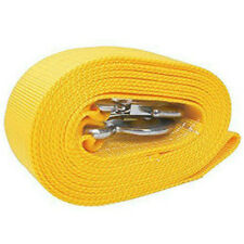 5 Tons Car Tow Cable Towing Strap Rope with 2 Hooks Heavy Duty 13FT 11,000LB Hot