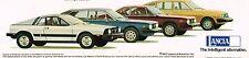 Big 1977 LANCIA Brochure with Spec's: SCORPION,HPE Estate Wagon, COUPE, SEDAN