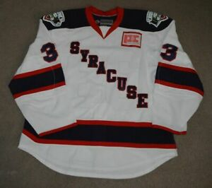 Mike Ratchuk Syracuse Crunch Game Issued 2009-10 Alternate Jersey AHL Hockey
